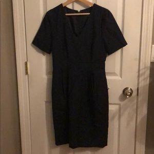 J Crew wear to work midi dress size 6